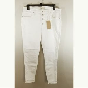 """NWT Madewell 10"""" high rise skinny size jeans 34"""